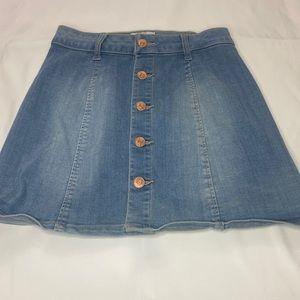 Celebrity Pink Denim Mini Skirt